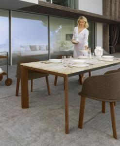 luxury marble patio table rectangular table outdoor made in italy manufacturer design garden luxury quality retailers websites garden table marble travertine