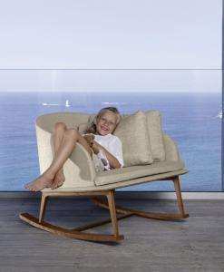 fauteuil lounge d extérieur ameublement design haut de gamme jardin luxe moderne en ligne mobilier meuble contemporains site italiens qualité bascule
