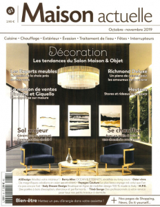 Italy Dream Design on Maison Actuelle issue of October - November 2019