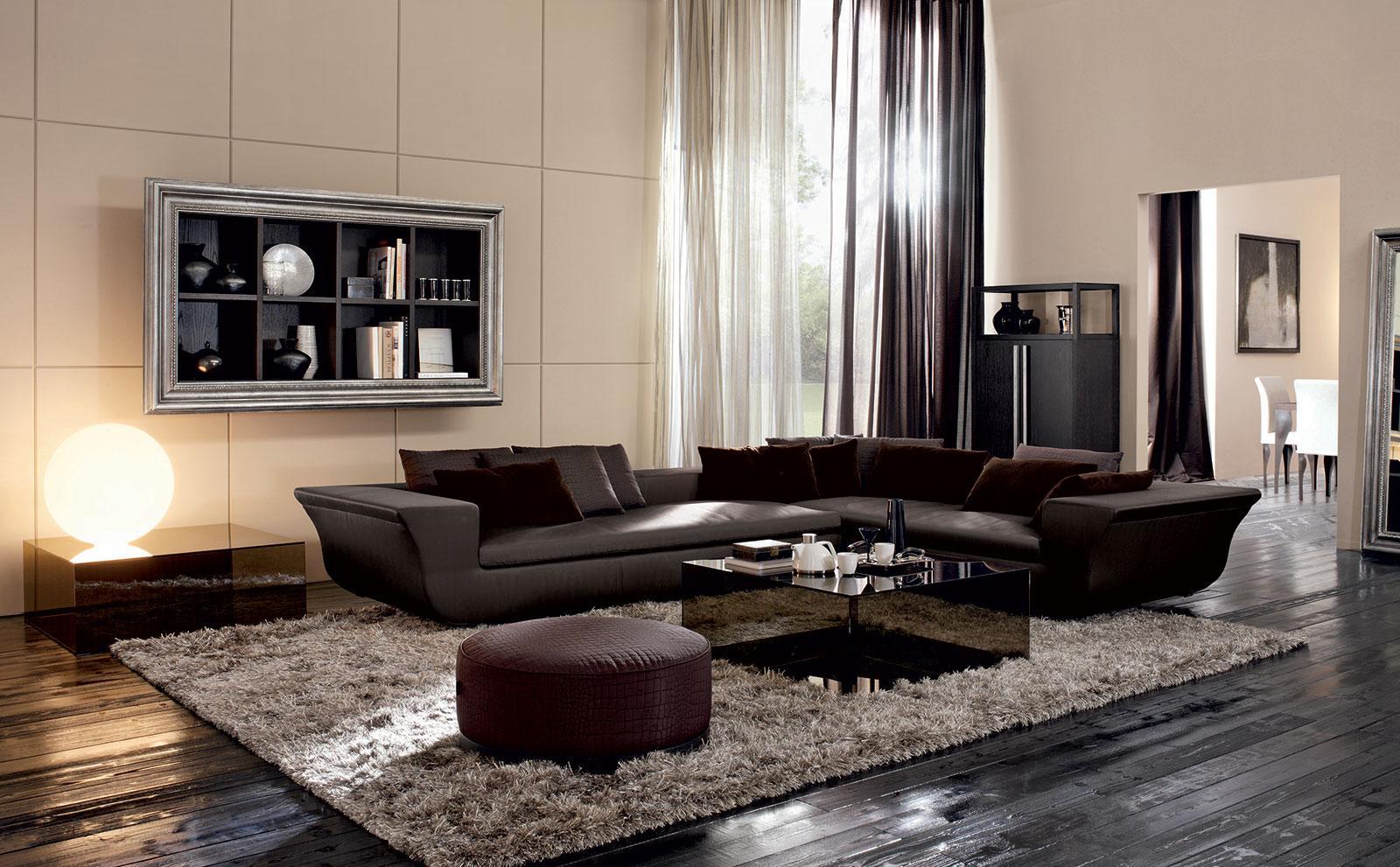 Arredamento soggiorno moderno di lusso perfect ecco il for Arredamenti moderni foto