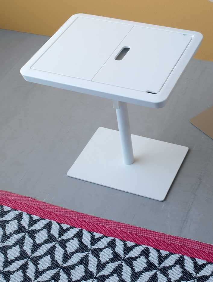 tablet table made in italy manufacturer design online shop dove grey white