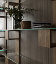 Make a sophisticated and modern foundation for any chic display in your home with Infinity a luxury and elegant bookcase made in Italy. Shop now for vertical bookcases.