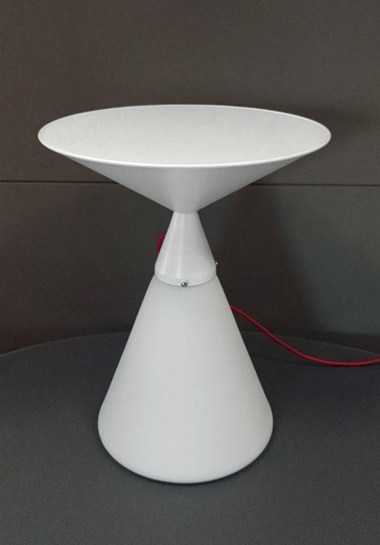 Luciole tavolino in vetro e metallo.   italy dream design