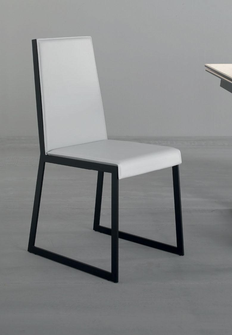 Matrix is a high backrest dining or desk chair designed by Arter & Citton. This comfortable chair is covered with imitation leather and is available in different colors.