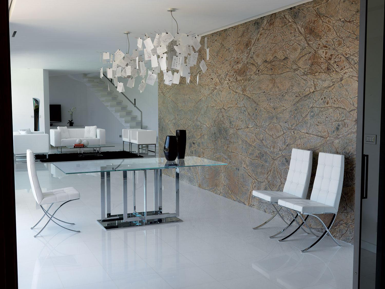 Museum sedia imbottita rivestita in pelle italy dream design - Arredamento ufficio moderno ...