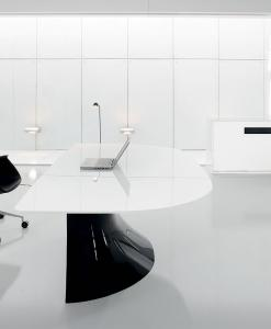 white glass desk desk managerial furniture stores shops design delivery factors cristalplant italia market makers manufacturers quality retailers websites executive office
