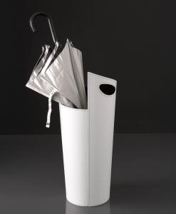 portaombrelli rosso nero cuoio design arredamento lusso vendita online complementi