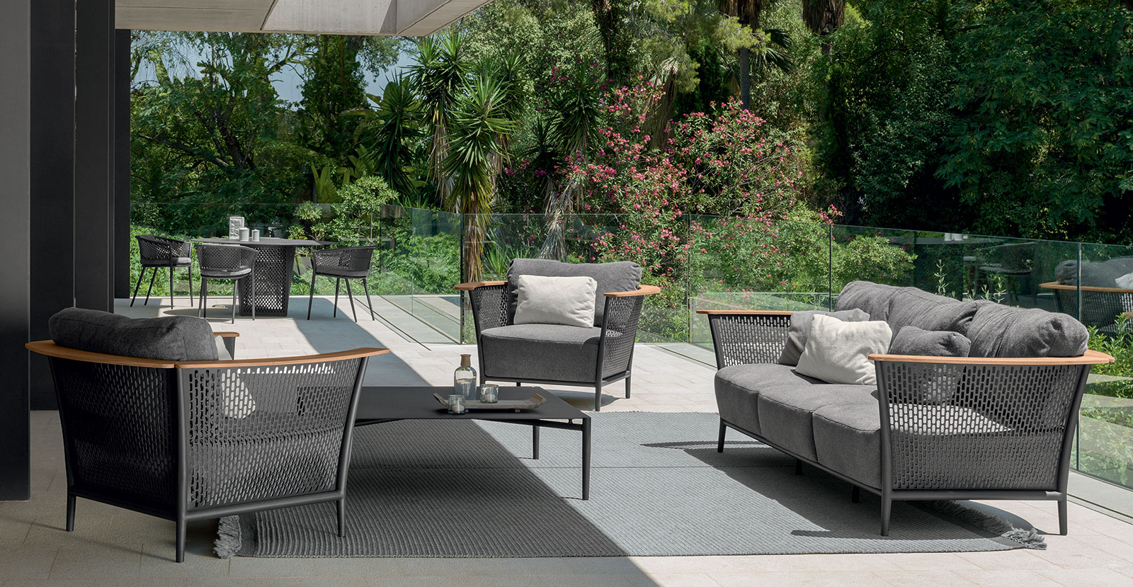pascal salon exterieur salotto giardino outdoor lounge set