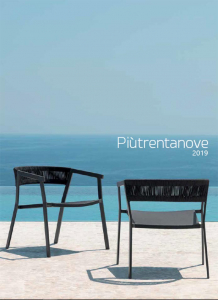 piu39 2019 outdoor furniture Italy Dream Design