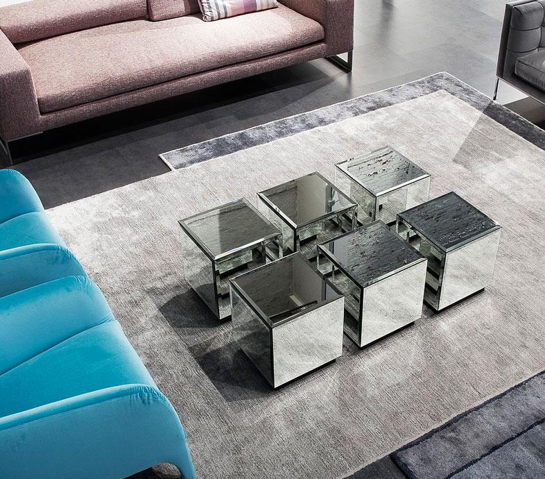 Table Basse En Verre Design Haut De Gamme.Riflesso Table Basse