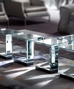 table basse blanche en verre console carrée de salon ameublement design haut de gamme luxe maison magasin moderne pro salon design d'intérieur en ligne