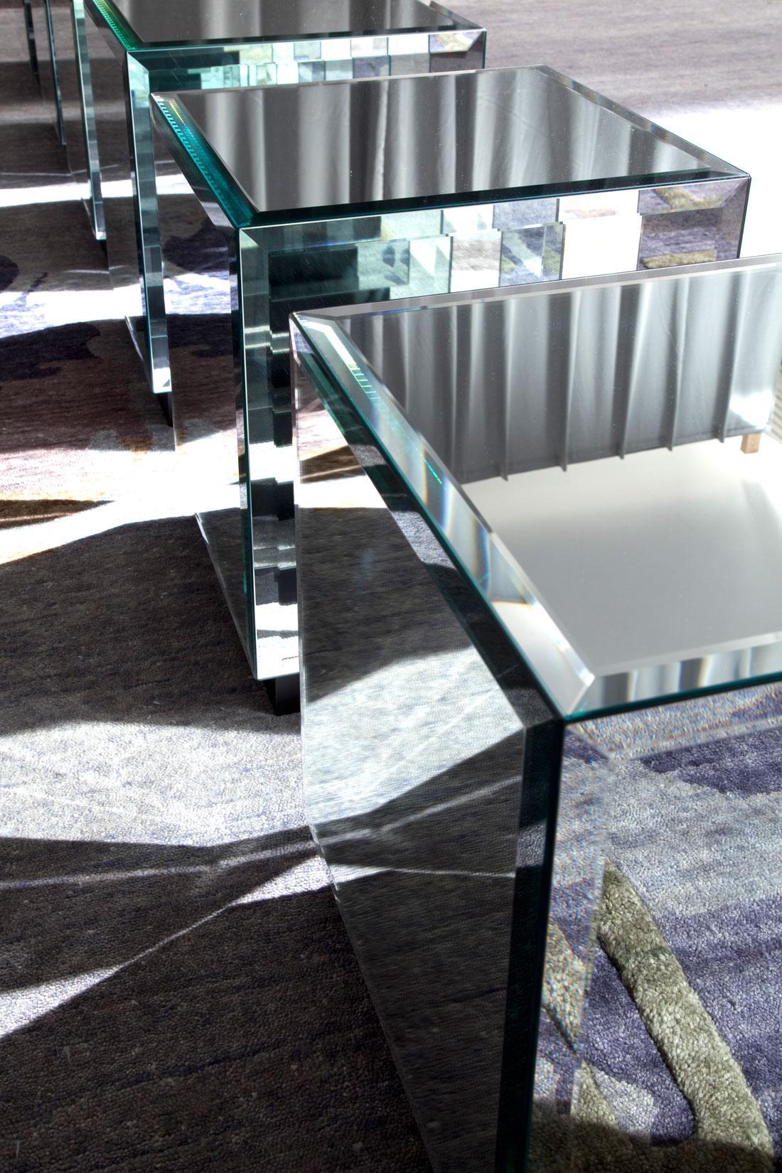 tavolino salotto basso cristallo divano da fumo in vetro nero arredamento casa ufficio on line moderno di lusso 2015 design web made in italy specchio