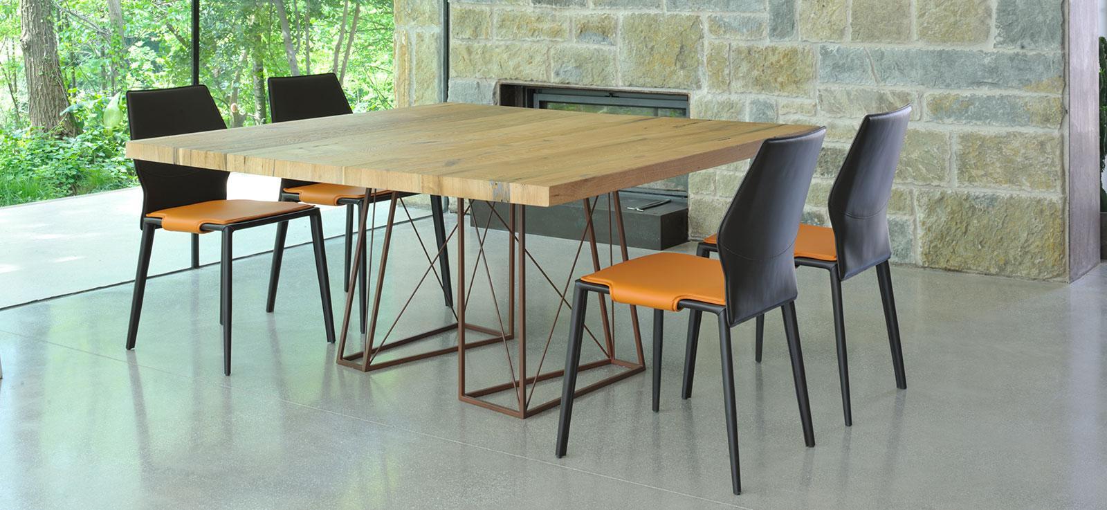 Roxy tavolo da pranzo in legno di Briccola di Venezia - Italy Dream Design