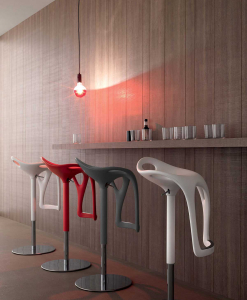 Mac, our adjustable swivel bar stool, helps bring a fun twist to your kitchen island ensemble or complete a sophisticated look in any living space. Shop now for kitchen bar stools.