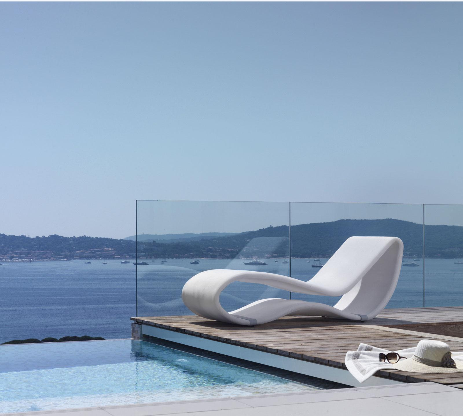 Sinuo 2.0 chaise longue da esterno - Italy Dream Design