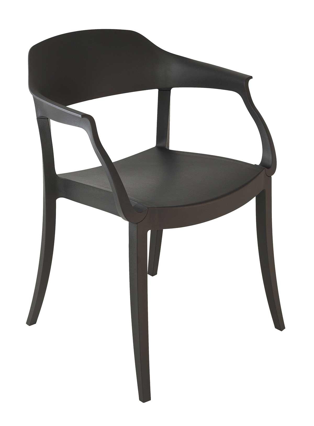 La chaise en polypropylène Sarah, réalisée artisanalement en Italie est pratique, légère et solide. Découvrez la collection de chaises empilables pour la salle à manger ou le bureau.