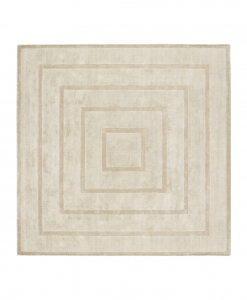A rug in Tencel is a natural and high-quality item. Dominus can be squared or rectangular, it has a modern geometric pattern. Online shop, home delivery.